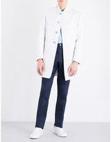 Thom Browne Zip-back Cotton Coat