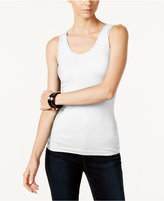 INC International Concepts Ribbed Tank Top, Only at Macy's