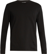 Balenciaga Long-sleeved cotton T-shirt