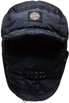 Stone Island padded logo patch hat