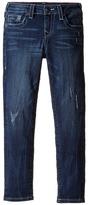 True Religion Casey Jeans in Chrome Blue Girl's Jeans