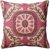 OKA Jeruk Cushion Cover - Pink/Black