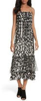 Tracy Reese Women's Double Layer Silk Slipdress