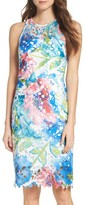 Betsey Johnson Women's Lace Sheath Dress