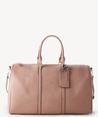 Sole Society Women's Lacie Weekender Vegan Leather In Color: Canyon Bag From