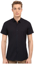 The Kooples Paper Popeline Short Sleeve Shirt