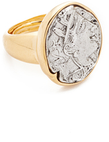 Kenneth Jay Lane Coin Ring