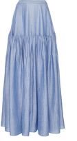 Co Japanese Ramie Tiered Skirt