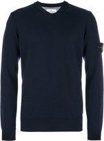 Stone Island V-neck jumper - men - Wool - S