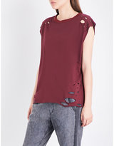 NSF Harley cotton-jersey top