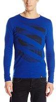 G Star G-Star Men's Rinazat Slim-Fit Long-Sleeve Graphic Shirt