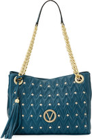 Valentino By Mario Valentino Luisa Sauvage Quilted Leather Tote Bag