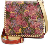 Patricia Nash Metallic Tooled Lace Granada Crossbody