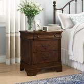 Johnston 3 Drawer Nightstand Birch Lanea Heritage