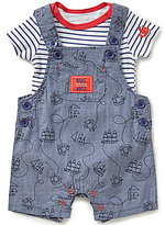 Baby Starters Baby Boys 3-12 Months Nautical Printed Coverall and Striped Bodysuit Set