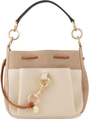 See by Chloe Tony Colorblock Mixed Leather Crossbody Bag