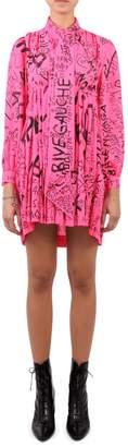 Balenciaga Pink Babydoll Dress
