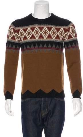 Gucci Wool-Blend Intarsia Knit Sweater