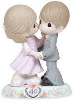Precious Moments Sweeter As The Years Go By 40th Anniversary Porcelain Figurine