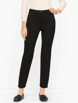 Talbots Ponte Slim Leg Pants