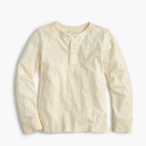 J.Crew Boys' long-sleeve vintage henley T-shirt