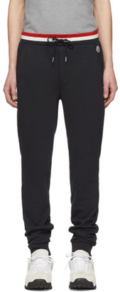 Moncler Navy Retro Lounge Pants