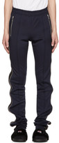 99% Is Navy and Black Super Long Zip Track Pants