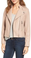 MICHAEL Michael Kors Women's Leather Moto Jacket