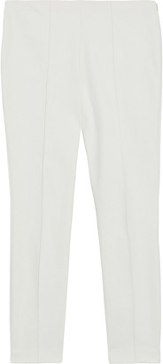 The Row Cosso Cropped Cotton-blend Cady Skinny Pants