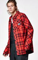 Neff Jeff Insulated Plaid Flannel Snow Jacket