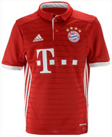 adidas Kids' Bayern Munich Club Soccer Home Jersey