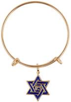 Alex and Ani 14K Gold Star of David Mini Charm Expandable Ring