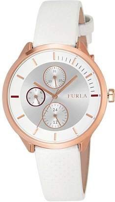 Furla Womens Analogue Quartz Watch with Leather Strap R4251102526