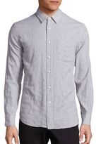 Rag & Bone Checked Beach Shirt
