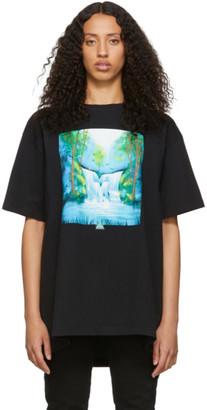 Off-White Black Waterfall T-Shirt