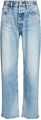 Moussy Lomita Wide Straight-Leg Jeans