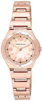 Anne Klein Women's Ebelle Quartz Watch with Mother of Pearl Dial Analogue Display and Rose Gold Alloy Bracelet 10/N8654RMRG
