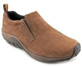 Merrell Jungle Moc Pro Men Round Toe Leather Brown Loafer.