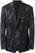 Issey Miyake patterned blazer - men - Wool/Cupro - 3