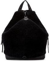 Liebeskind Iga Shaved Faux Fur Backpack