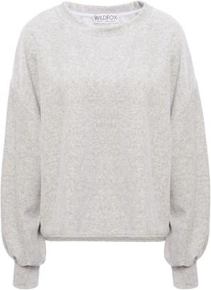 Wildfox Couture Melange Fleece Sweatshirt