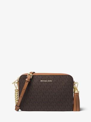 MICHAEL Michael Kors Ginny Medium Logo Crossbody Bag