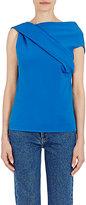 Balenciaga Women's Compact Knit Sleeveless Top-BLUE