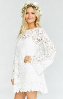 MUMU Love Story Lace Dress ~ White