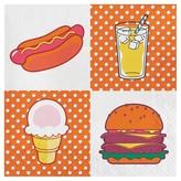 POPTIMISM! 18ct 4th of July Foods Snack Napkins - POPTIMISM!
