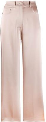 Nanushka Marfa satin trousers