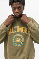 Urban Outfitters Baltimore Olive Crew Neck Sweatshirt