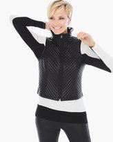 Chico's Valencia Novelty Quilted Vest