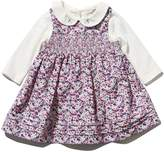 M&Co Floral smock dress and long sleeve top set