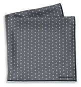 hook + ALBERT Polka Dot Silk Pocket Square